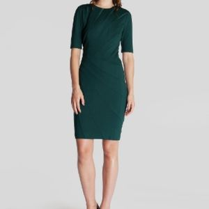 Ted Baker Bodycon Corie Dress With Seam Detail